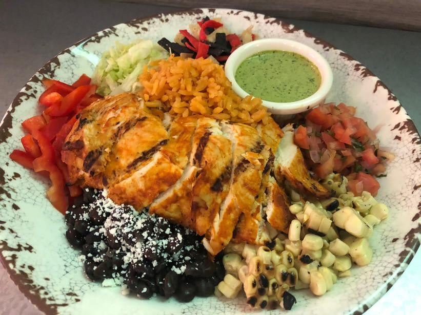 Fiesta Bowl w/ Harissa Lime Chicken