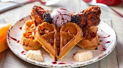 Lemon Velvet Fried Chicken Waffle Dec 20