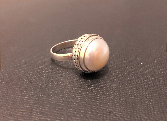 Freshwater Pearl Ring Size P1/2