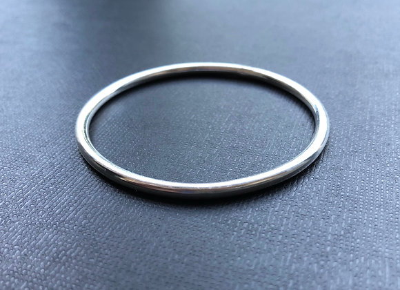3mm Solid Sterling Silver Solid Golf Bangle