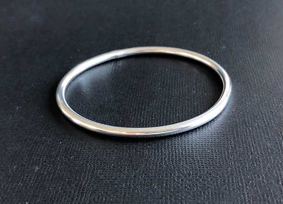 3.5mm Solid Sterling Silver Golf Bangle