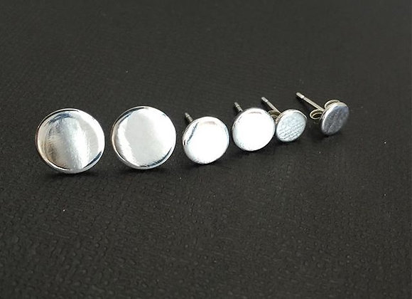 Tiny Sterling Silver Studs 4mm