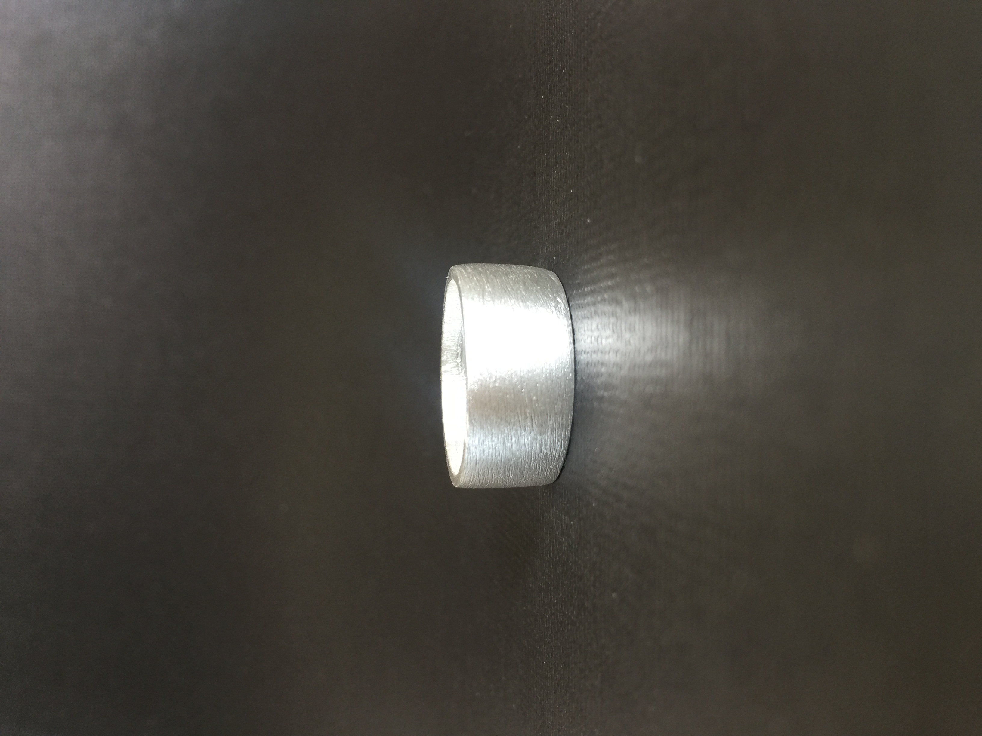Custom Rough Matt finish ring