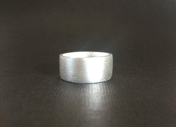 Sterling Silver Ring - Rough Matt Finish