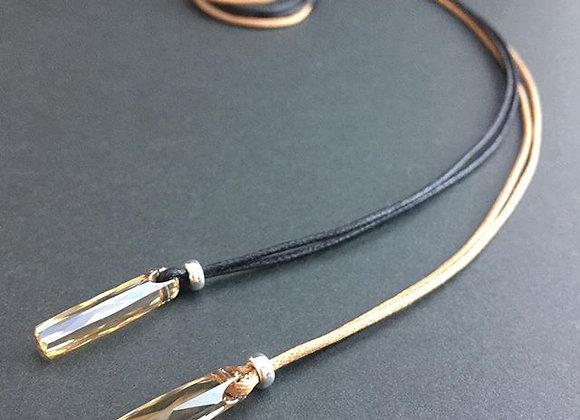 Swarovski Crystal & Sterling Silver necklace