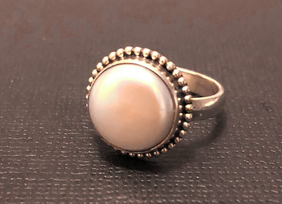 Freshwater Pearl Ring Size R1/4