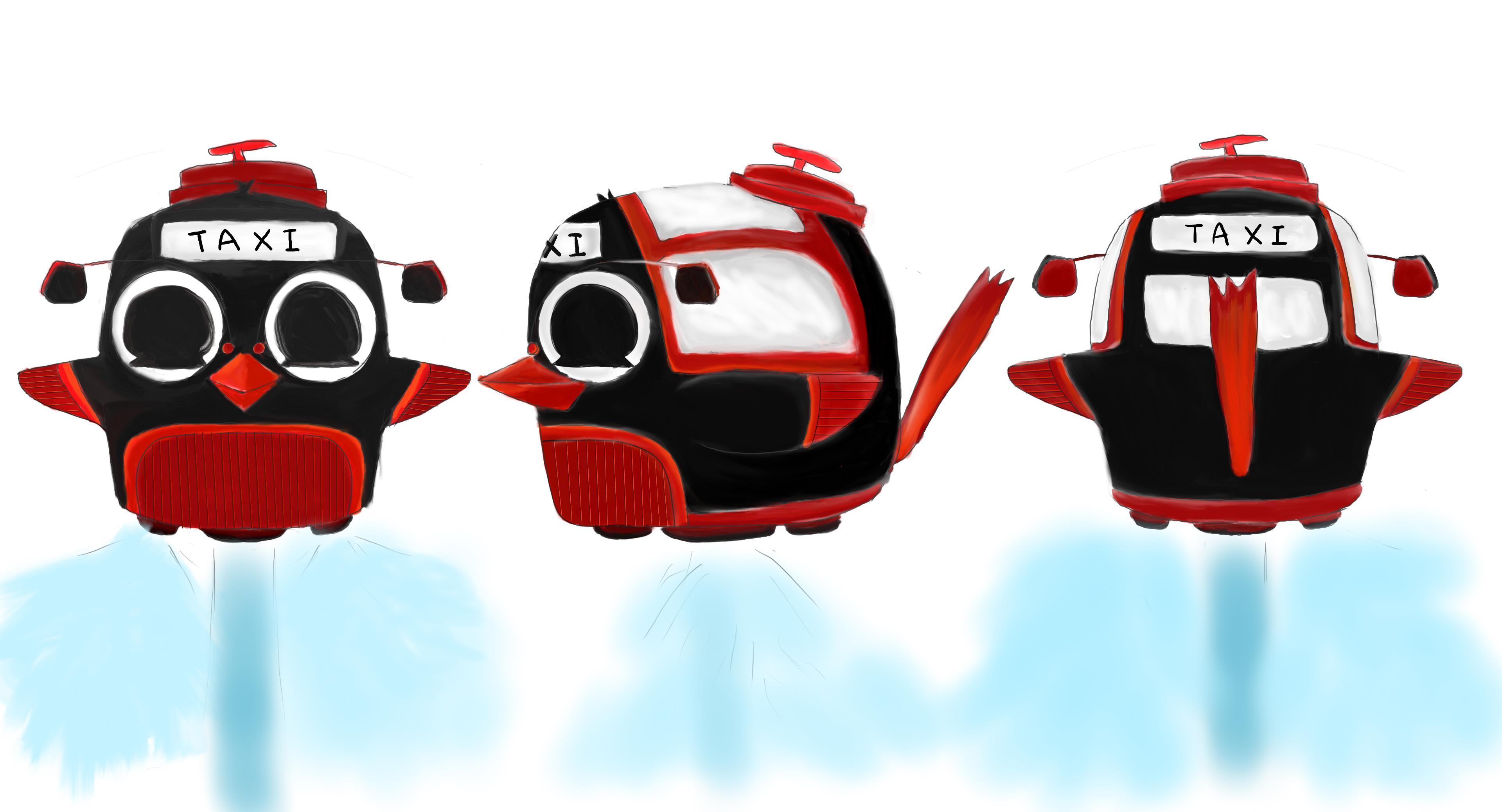 BG_Traffic_001_五色鳥雙人車(計程車)