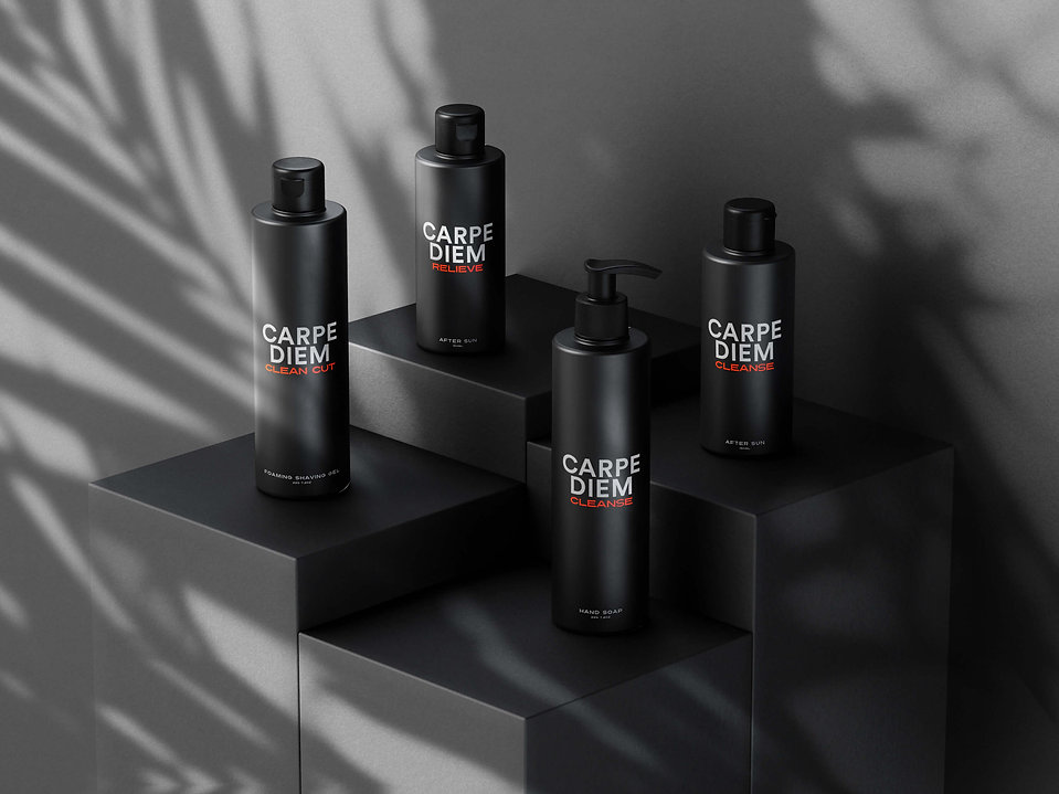 Mens grooming products by Carpe Diem