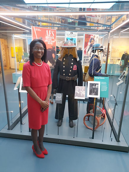 Imperial War exhibit and me.jpg