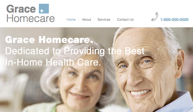 Health Website Templates Home Healthcare