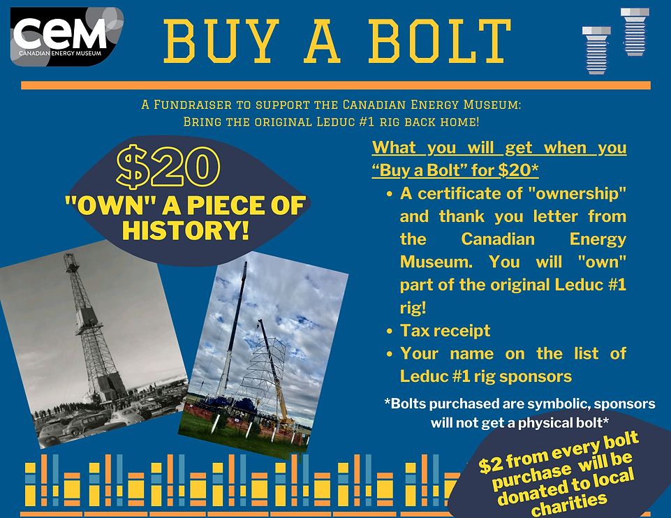 $2 from every bolt will be donated to lo