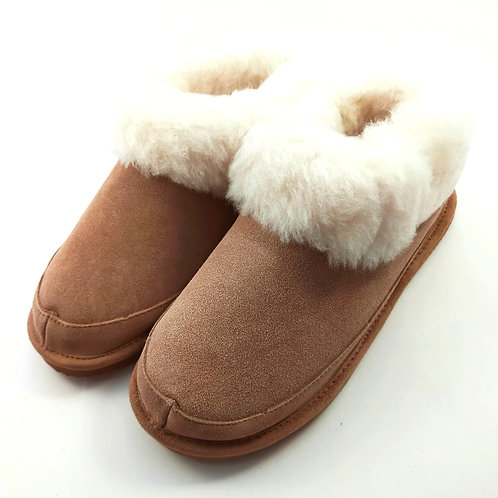 Wool Lined Sheepskin Slippers