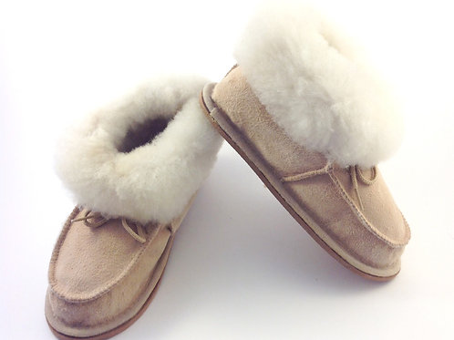 Portuguese Tie-On Slipper Booties