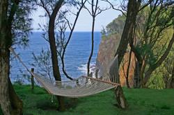 hammock _ cliff