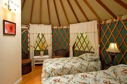 yurt twin beds