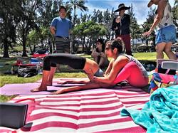 Beach Yoga Assist