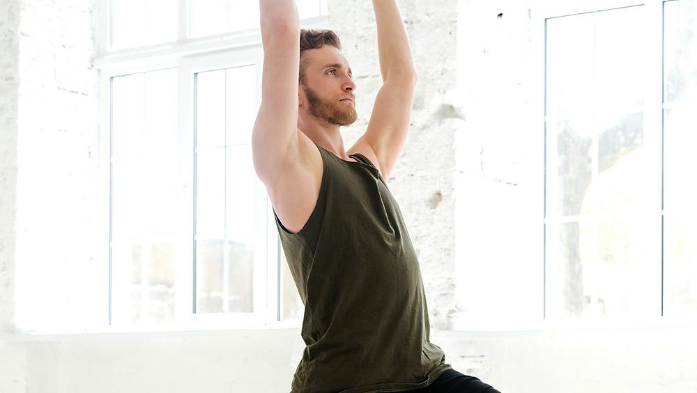 Stretch arms upwards