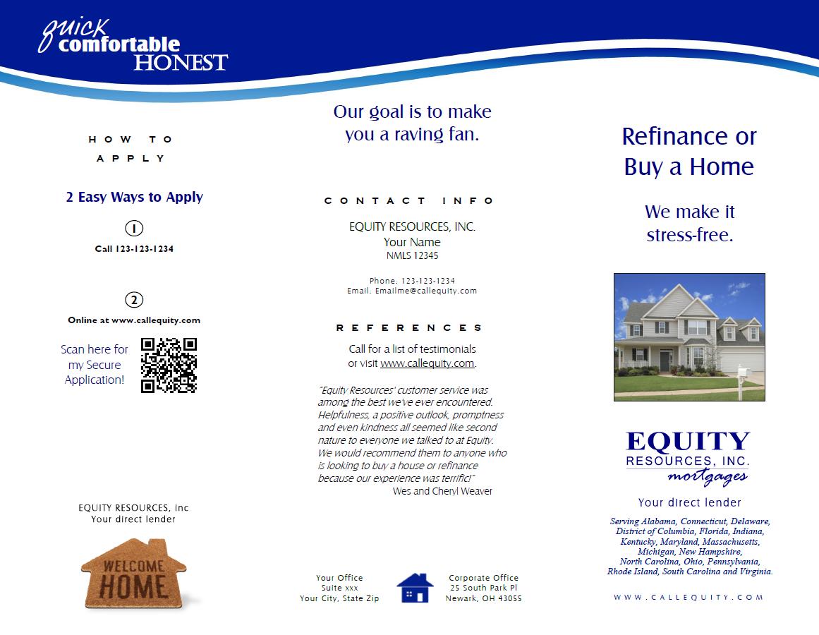 Consumer Brochure Purchase or Refi