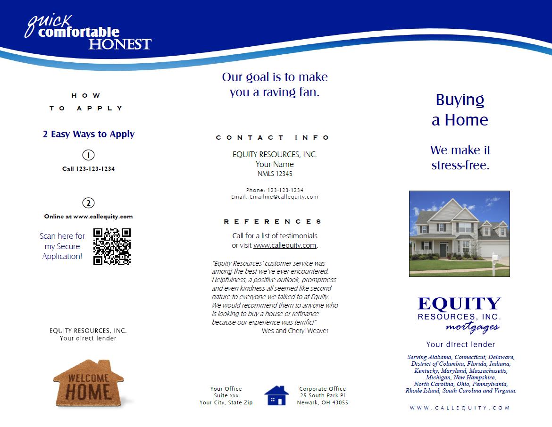 Consumer Brochure Buy a Home