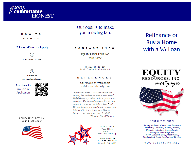 VA Brochure Sample