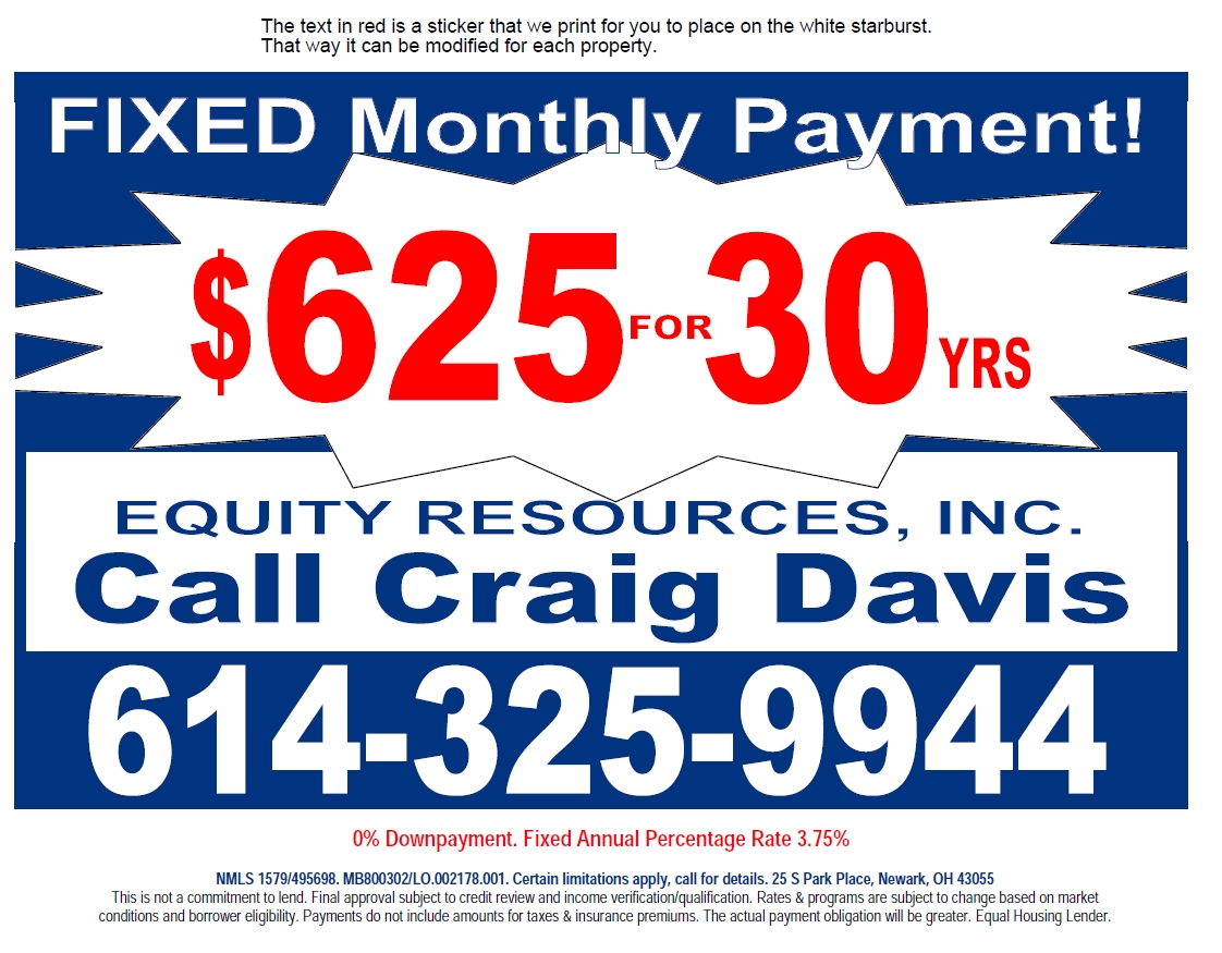 Fixed Monthly Payment