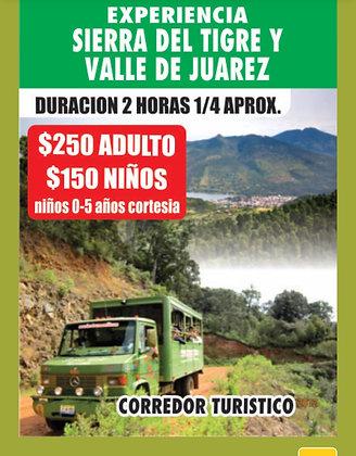 TOUR CAMIÓN SIERRA Y VALLE