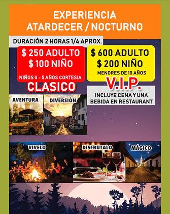 Tour Nocturno Pueblos Mágicos