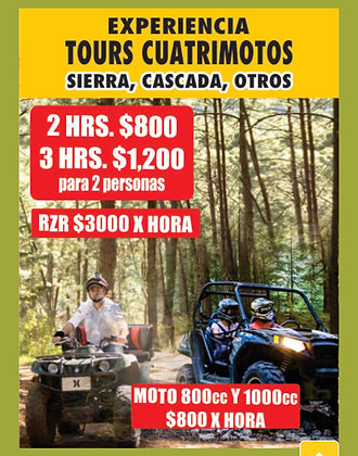 TOURS en CUATRIMOTO
