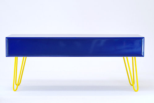 Blue contemporary sideboard
