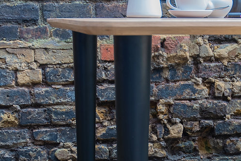 Wooden chunky table legs
