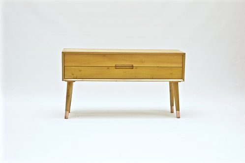 Nordic style 2 drawers sideboard