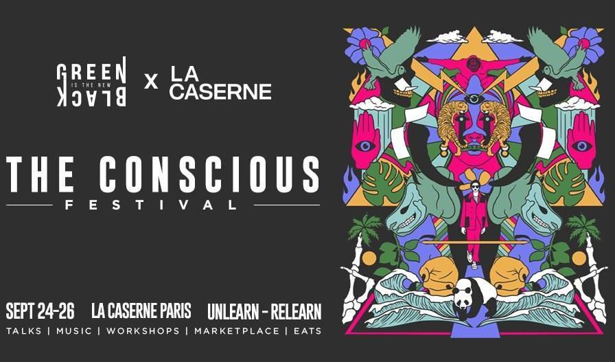 Affiche du Conscious Festival 2021