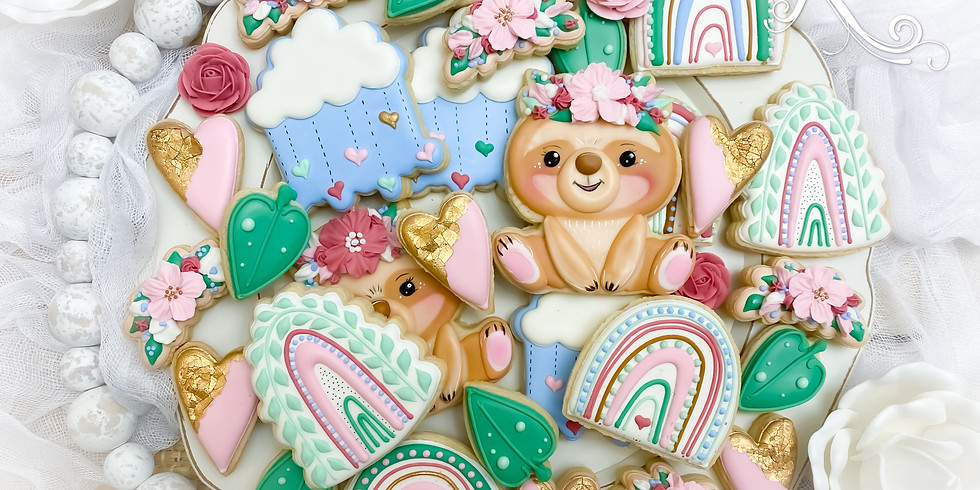Sweet Little Sloth Cookie Class