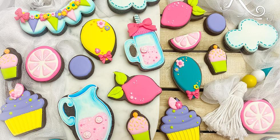 Pink Lemonade Cookie Class