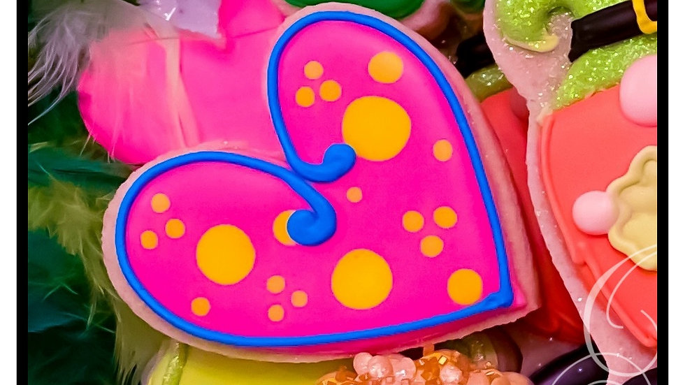 Funky Heart Large