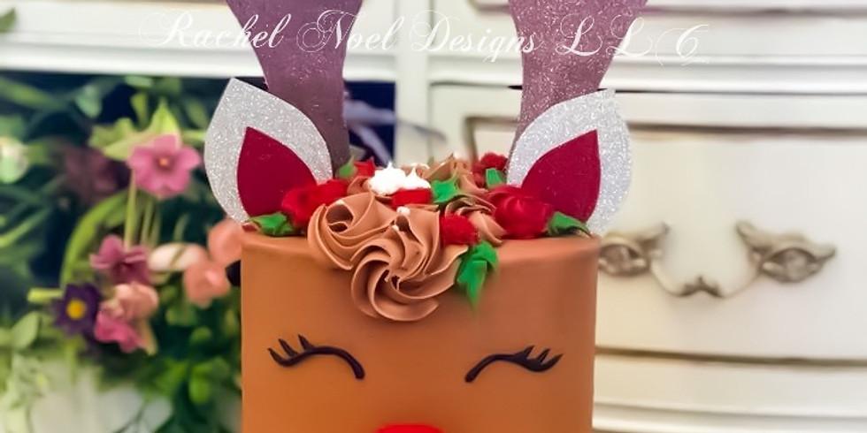Ms Reindeer Cake