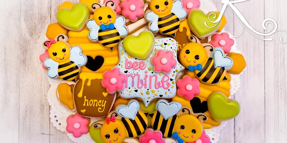 Bee Mine Cookie Class