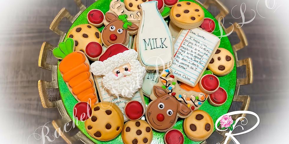 Santa's Milk and Cookies