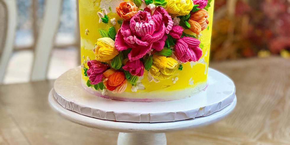 Palette Knife Cake Class (1)