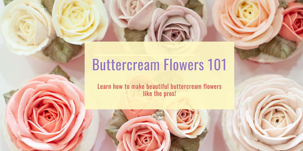 Buttercream Flowers 101