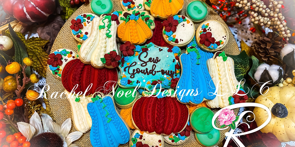 Sew Gourd-ous Cookie Class