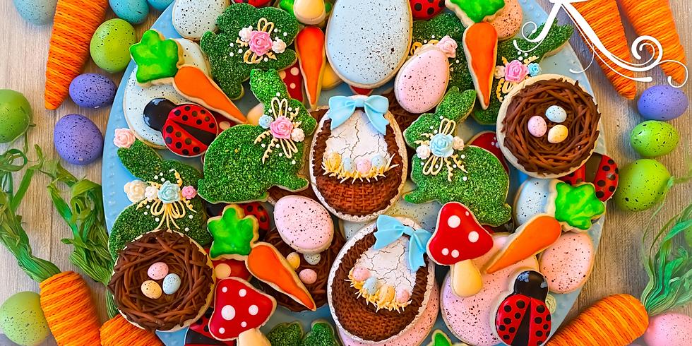 Garden Bunny Cookie Class