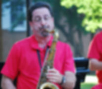 Joseph Calianno playing tenor sax