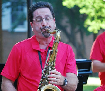 Joseph Calianno playing tenor sax