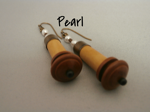 Boxwood Endpin Earrings