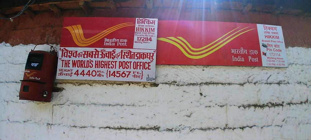 World's highest post office