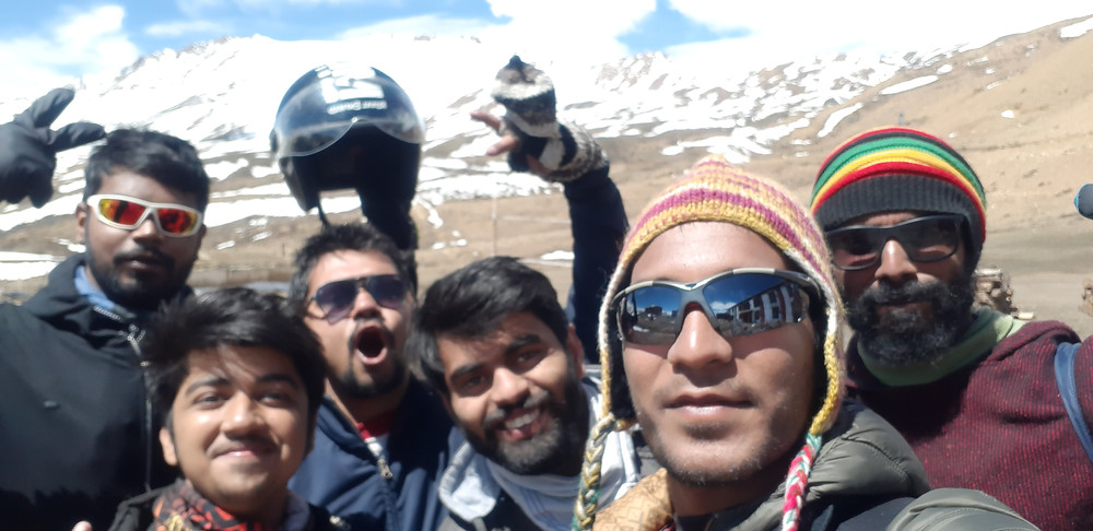 reached at highest village in the world