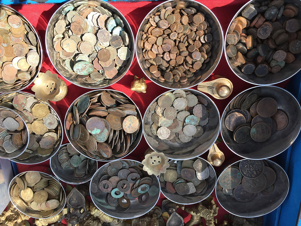 Old coins of Indian Currency