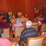 Istentisztelet Salgótarján, Idősek Otthonában Salgóta