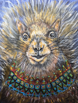 Zen Squirrel
